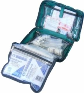 First Aid Kit for 6-25 people, soft bag