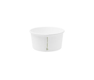 Hot Container White 6oz 190ml - Vegware - Pack or Carton