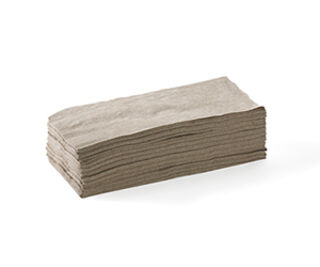 Lunch Napkin 2 Ply (1/8 Fold) Natural - BioNapkin