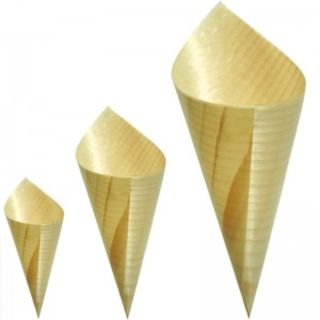 Large Wooden Cone - Epicure