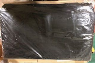 Small Wheelie Bin Liner 120L Black - Pack 50