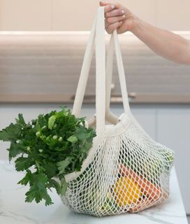 String Carry Bag – Long Handle - Ecobags