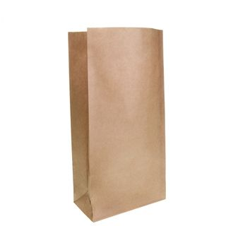 Brown Block Bottom Paper Bag No 2 Heavy Duty 160W x 350H (83mm gusset)- UniPak