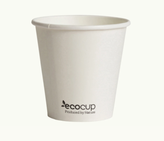 225mL Single Wall EcoCup (80mm) FSC® MIX WHITE