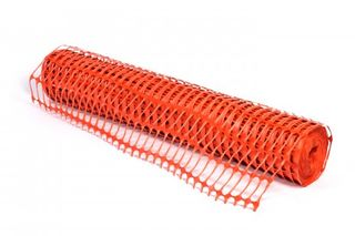 ECONOMESH' Orange Safety Mesh 8Kg 50m roll - Esko