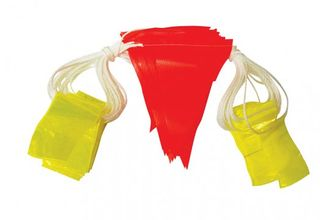 Good2Glow Bunting Cord 45 Flags Day/Night, 30m - Esko