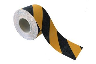 ESKO GRIT TAPE Tape, 100mm x 18m, Black/Yellow - Esko