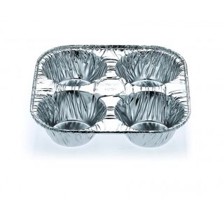 4 Cavity Muffin Tray - Confoil