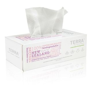Dry Facial Wipes Biodegradable 48s - Terra