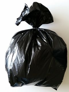 Black Rubbish Bag 350x290x900mm EPI - Fortune