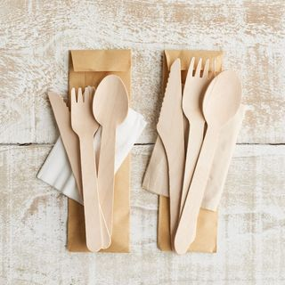 Cutlery Set Wooden 16cm - Epicure