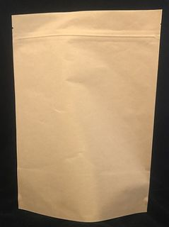 Stand Up Pouch Compostable 250gm 160x230mm Kraft