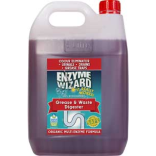 Grease & Waste Drain Digester RTU 5Litres x 3 - Enzyme Wizard