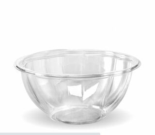 1,080ml (32oz) salad bowl - clear - BioPak