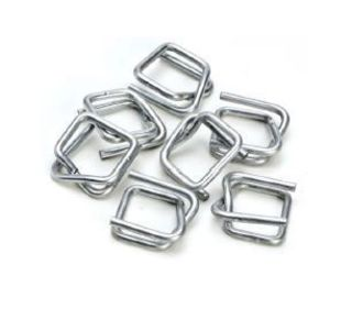 Wire Buckles Light Duty - Silver, 19mm, 2.5 Gauge - Matthews