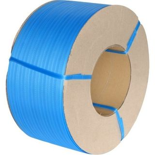 PP Machine Strapping Band - Blue, 12mm x 3000m, 120kgf - Matthews