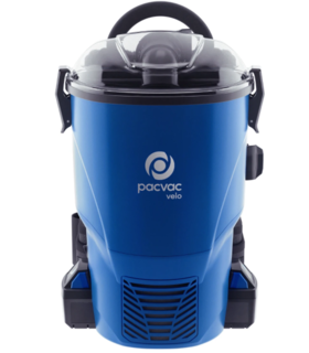 PACVAC VELO BATTERY BACKPACK VACUUM CLEANER - Filta