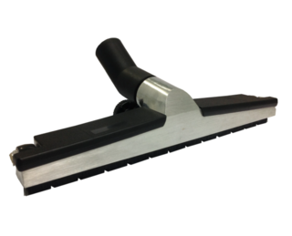WESSEL WERK GRD370 BRUSH FLOOR TOOL 36MM X 370MM WIDE - ALUMINIUM/BLACK - Filta