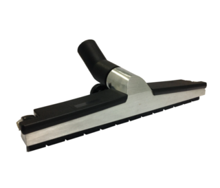 WESSEL WERK GRD370 BRUSH FLOOR TOOL 38MM X 370MM WIDE - ALUMINIUM/BLACK - Filta