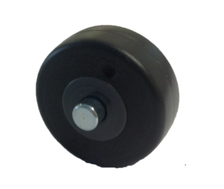 WESSEL WERK AXLE & WHEEL FOR D300 FLOOR TOOL - Filta