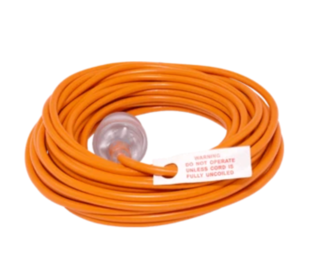 FILTA LEAD 3 CORE 1MM, 20M - ORANGE - Filta