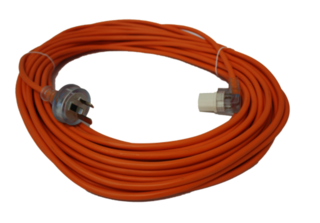 FILTA LEAD 3 CORE 3 PIN PLUG 1MM, 20M - ORANGE - Filta