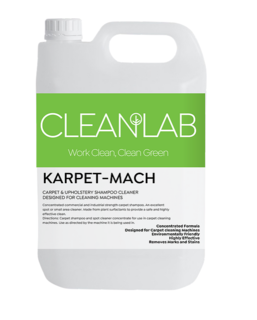 KARPET-MACH - carpet & upholstery shampoo cleaner - CleanLab