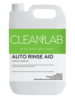 DISH RINSE AID - automatic rinse aid - CleanLab