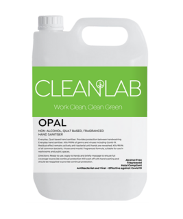 OPAL - non-alcohol quat based fragranced hand sanitiser - CleanLab