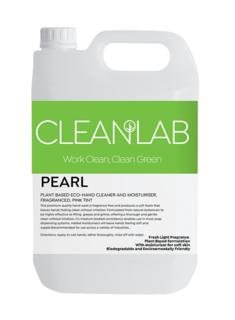 PEARL - plant based hand cleaner and moisturiserfragranced, pink tint - CleanLab