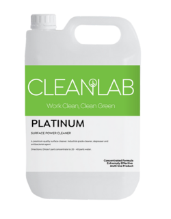PLATINUM - surface power cleanerconcentrated - CleanLab