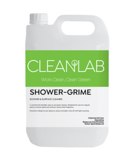 SHOWER-GRIME - shower & surface cleaner - CleanLab