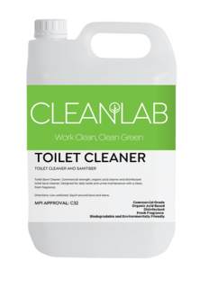TOILET CLEANER - toilet cleaner and sanitiser - CleanLab