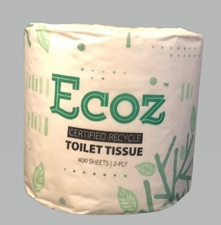 Toilet Tissue Recycled 2ply 400sheet - Ecoz