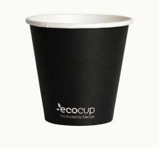 285mL Single Wall EcoCup (90mm) FSC® MIX GREEN - Ecoware