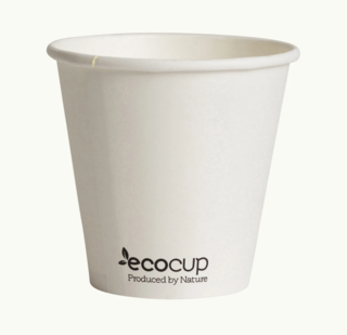 285mL Single Wall EcoCup (90mm) FSC® MIX WHITE - Ecoware