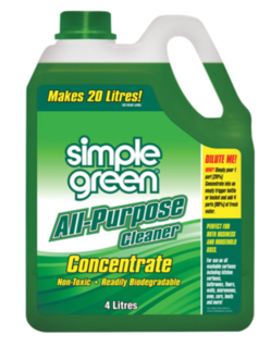 Green Household Concentrate 4L - Simple Green