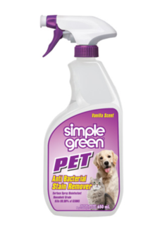 Pet Stain Anti Bac Cleaner 650ml - Simple Green