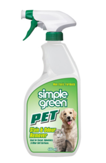 Pet Stain and Odour Remover 650ml - Simple Green