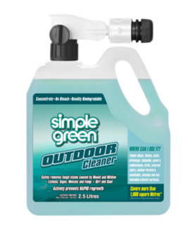 Outdoor Concentrate with Hose attachment 2.5L - Simple Green