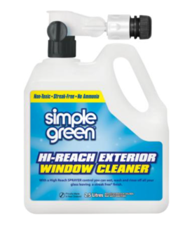 Exterior Window Wash with Hose attachment 2.5L - Simple Green