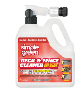 Deck & Fence Cleaner with Hose attachment 2.5L - Simple Green