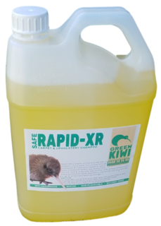 Fabric and upholstery shampoo - Rapid XR - Green Kiwi Clean