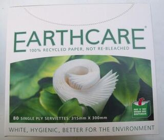 Serviettes Luncheon - 1 ply - Earthcare