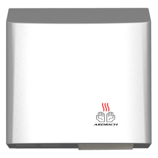 Hand Dryer White with Grey Trim - Ardrich