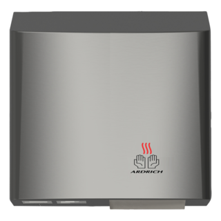 Hand Dryer SS with Grey Trim - Ardrich