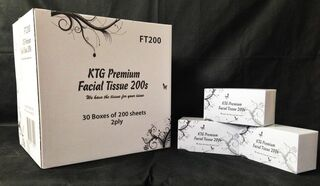 Facial Tissues 200's - Kiwi Tissue