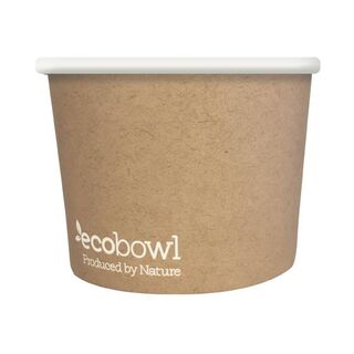 24oz Ecobowl - Soup/Icecream - Ecoware