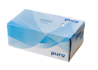 Tissues Facial 2ply, 200's - Pure