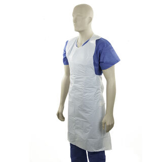 Apron -30mu Tear Off White - Bastion